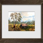 The timber cutter's hut