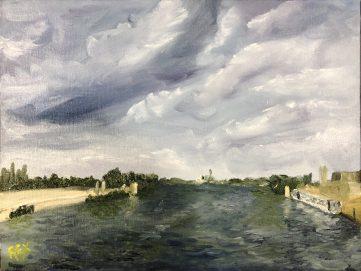 Summer storm at Arles